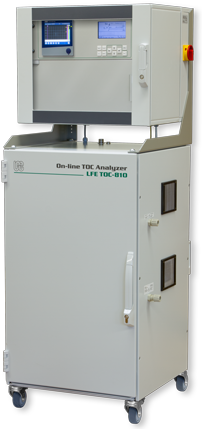 Process TOC Analyzer for continuous real time analysis of total organic carbon with high temperature oxidation – TOC-810