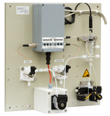 Acidifier/Sparger/Multiplexer Unit for removal of inorganic C, calibration, multi-stream & dilution  – ASM Unit